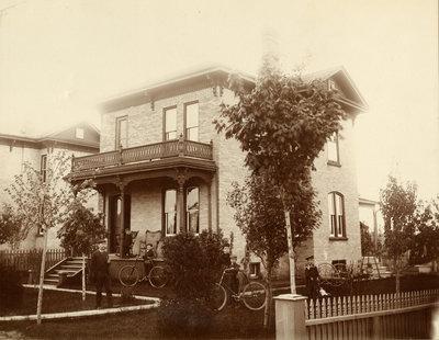 Charles Ahrens family home, Berlin Ontario
