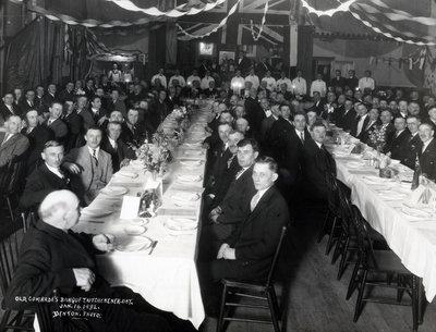 Old Comrades Banquet, Kitchener, Ontario