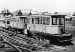 Three scrapped Kitchener-Waterloo street railway cars