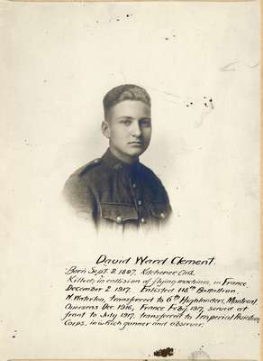 David Ward Clement
