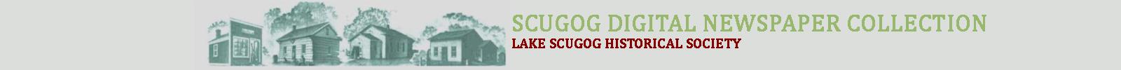 Lake Scugog Historical Society Historic Digital Newspaper Collection