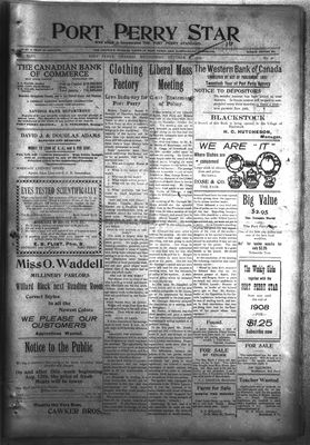 Port Perry Star, 16 Oct 1907