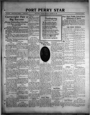 Port Perry Star, 6 Oct 1932