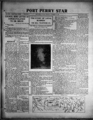 Port Perry Star, 3 Nov 1932