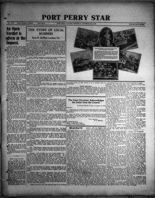 Port Perry Star, 24 Nov 1932