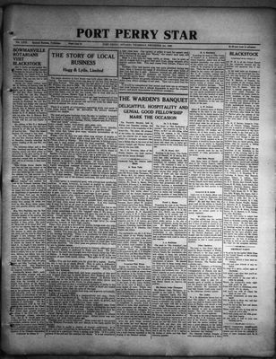 Port Perry Star, 1 Dec 1932