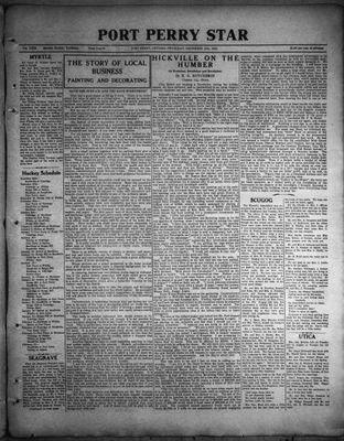 Port Perry Star, 15 Dec 1932