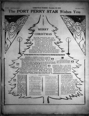 Port Perry Star, 22 Dec 1932