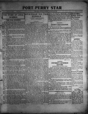 Port Perry Star, 12 Jan 1933