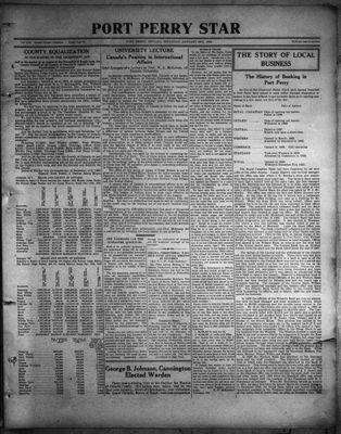 Port Perry Star, 26 Jan 1933