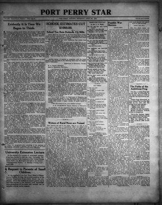 Port Perry Star, 6 Apr 1933