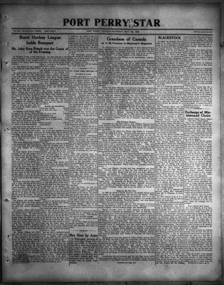 Port Perry Star, 4 May 1933