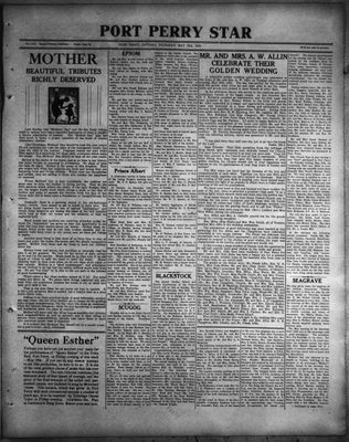 Port Perry Star, 18 May 1933