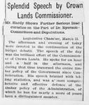 Ontario Scrapbook Hansard, 13 Mar 1894