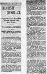 Ontario Scrapbook Hansard, 21 Mar 1901