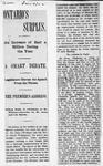 Ontario Scrapbook Hansard, 9 Jan 1902
