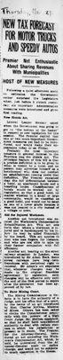 Ontario Scrapbook Hansard, 27 Mar 1924