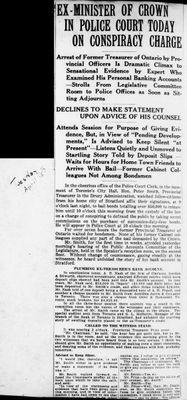 Ontario Scrapbook Hansard, 15 Apr 1924