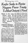 Ontario Scrapbook Hansard, 26 Feb 1926