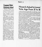 Ontario Scrapbook Hansard, 3 Mar 1945