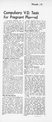 Ontario Scrapbook Hansard, 13 Mar 1945