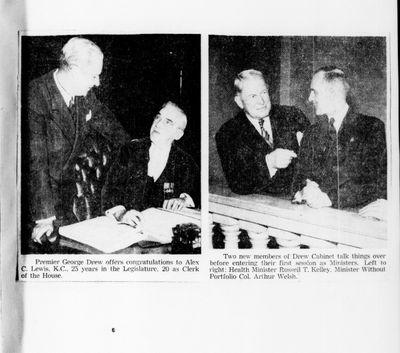 Ontario Scrapbook Hansard, 5 Mar 1946