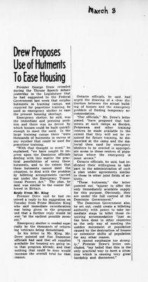 Ontario Scrapbook Hansard, 8 Mar 1946