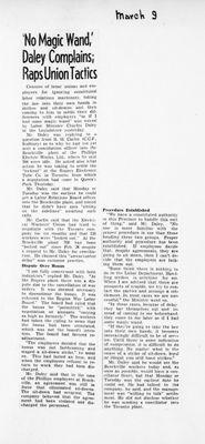 Ontario Scrapbook Hansard, 9 Mar 1946