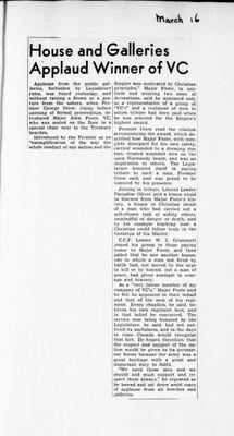 Ontario Scrapbook Hansard, 16 Mar 1946
