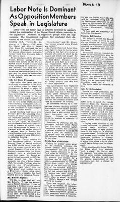 Ontario Scrapbook Hansard, 19 Mar 1946