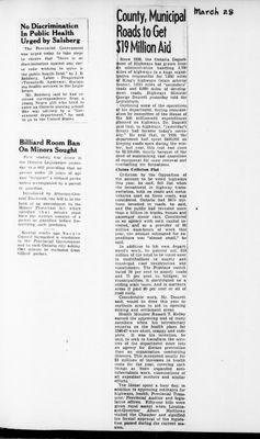 Ontario Scrapbook Hansard, 28 Mar 1946