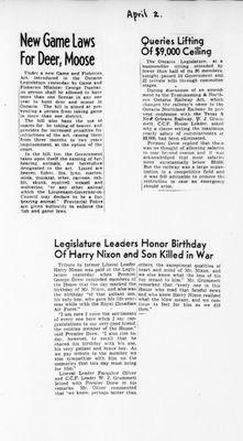 Ontario Scrapbook Hansard, 2 Apr 1946
