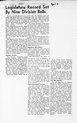 Ontario Scrapbook Hansard, 3 Apr 1946