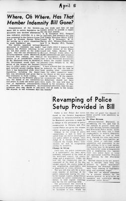 Ontario Scrapbook Hansard, 5 Apr 1946