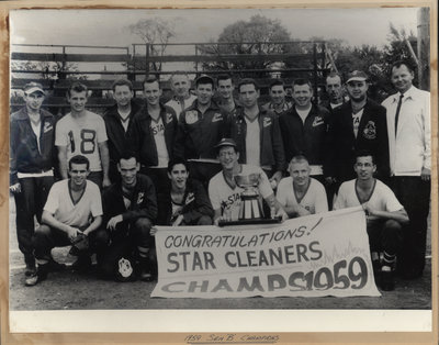 "1959 Sen ""B"" Champions"