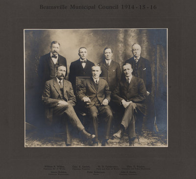 Beamsville Municipal Council 1914-15-16