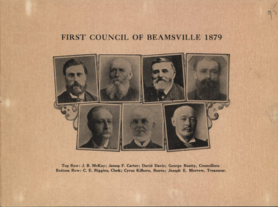 First Council of Beamsville 1879