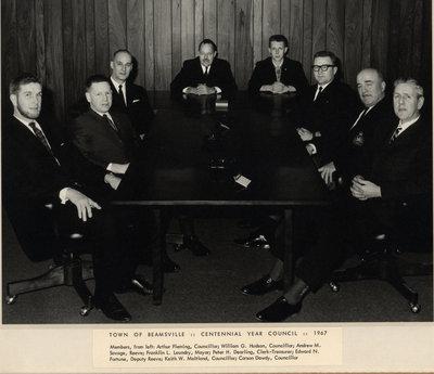 Town of Beamsville Centennial Year Council 1967