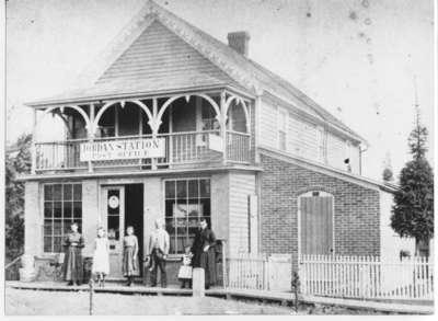 Jordan Station Post Office