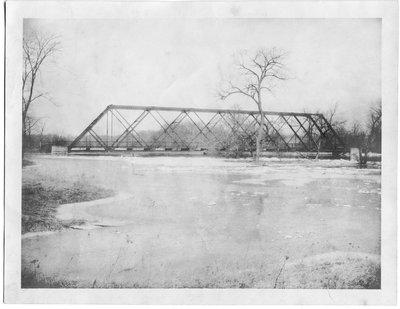 Unidentified Bridge in, or near, London, Ontario