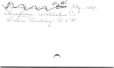 G.W. Rly.  1857.
