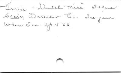 """Train """"Dutch Mill"""".  Illus"""