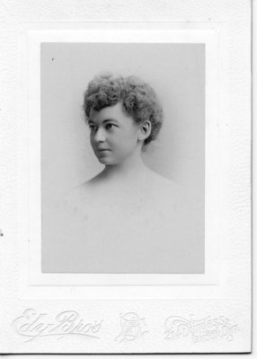 Portrait of Miss Westley, London, Ontario