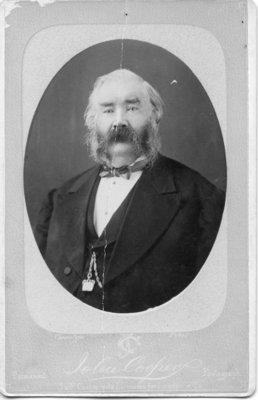 Portrait of James Ashburn(?) or John W. Ashbury(?) or William Ashbury (?), London, Ontario