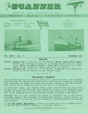 Scanner, v. 27, no. 3 (December 1994)