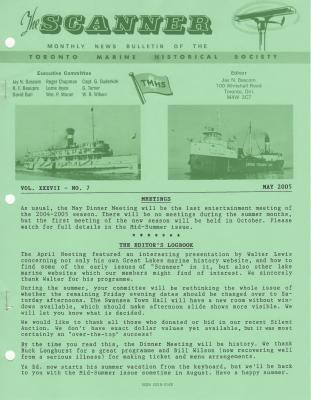 Scanner, v. 37, no. 7 (May 2005)