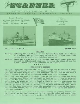 Scanner, v. 38, no. 3 (January 2006)