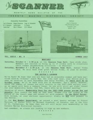 Scanner, v. 39, no. 8 (Summer 2007)