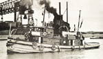 A. M. GERMAN in Port Colborne Harbour