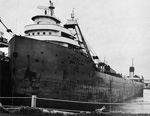 IRVIN L. CLYMER laid up at Rogers City, Michigan